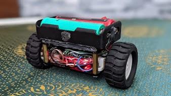 Xe hai bánh tự cân bằng điều khiển thông qua Blynk