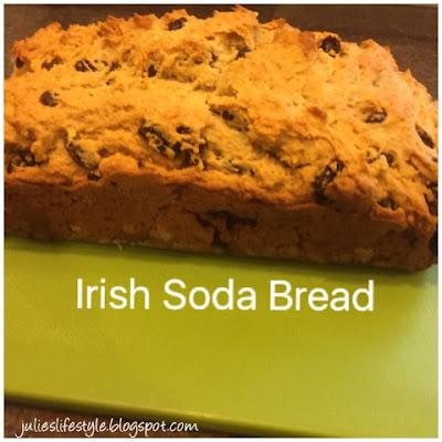 Irish Soda Bread recipe @ Julie's Creative Lifestyle