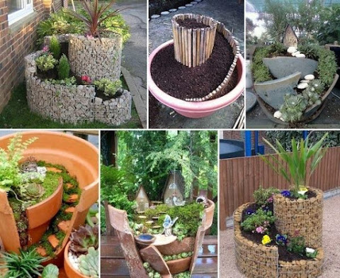 Cool stuff you can use.: Cool Miniature Garden Ideas