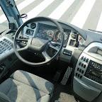 Het dashboard van de Scania Irizar van Coach Group Holland bus 291