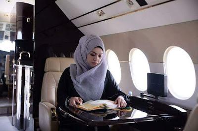 Kelas Mengaji Al Quran Dalam Jet Mewah