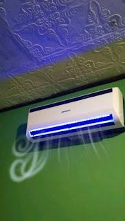 Simulasi AC bau