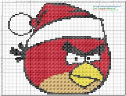 Angry Birds esquemas gratis Punto de cruz (15)