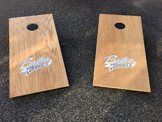 boston cornhole ordered 15 sets of boards from mckinnon cornhole boards in - Corn Hole Sets
