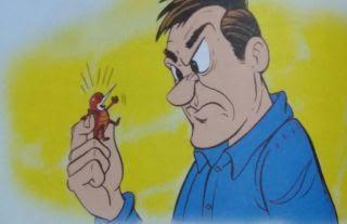 La pulga y el hombre
