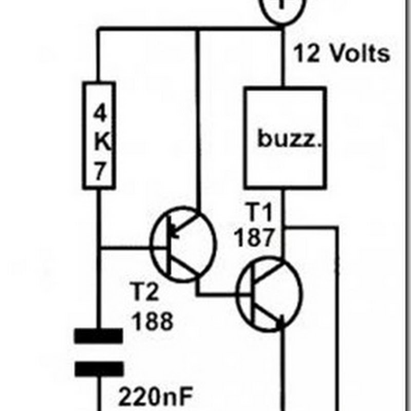 Simple Oscillator Schematic Basic Transistor Circuit