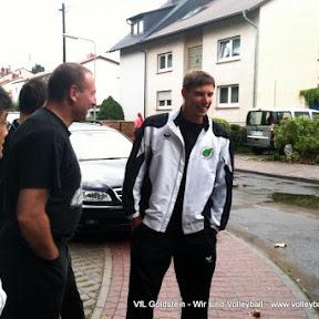 Saison 2010 11 - Vorbereitung im Trainingslager in Biedenkopf