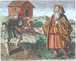 Morienus From Maier Symbola Aurea Mensae Franckfurt 1617