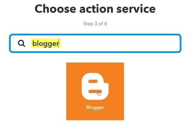 blogger-ifttt