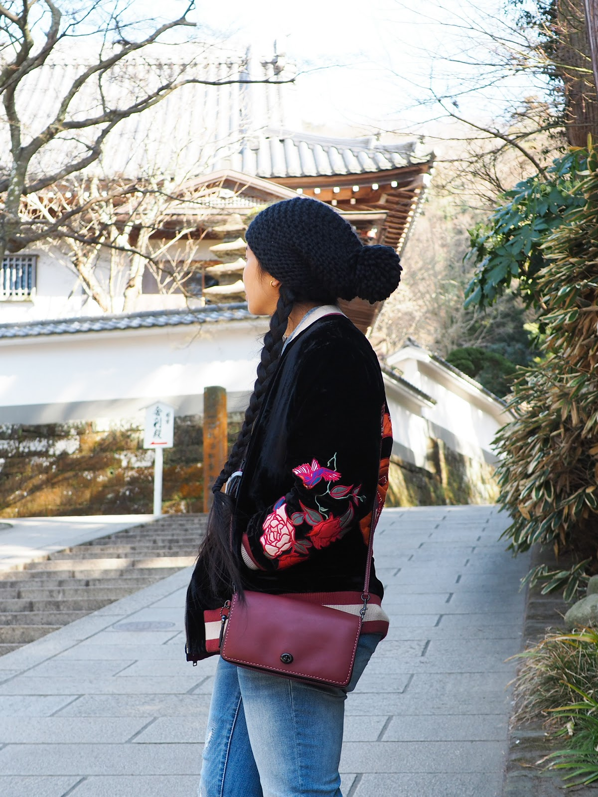 japan tokyo seattle blogger outfit winter