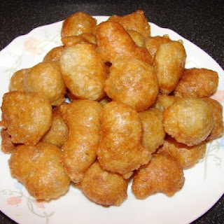 Fried Gluten Puffs 炸麵筋球