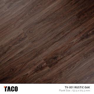 Vinyl Taco TV-001 Rustic Oak