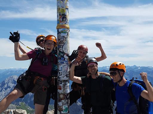 Klettergurt Leihen : Klettergurt leihen garmisch: alpspitze garmisch klettersteig führung