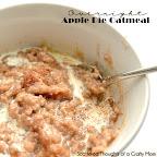 Overnight Apple Pie Oatmeal