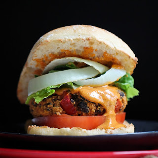 Fat-Free Baked Mexican Black Bean Burgers