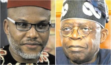 Big Shame, Nnamdi Kanu knocks Tinubu Again, Calls him a Disappointment, Disgrace To Noble Yoruba Ancestry