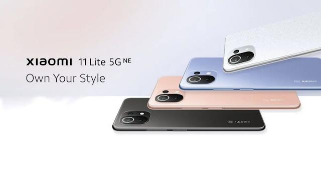 Xiaomi has launched new smartphone Xiaomi 11 Lite NE in india