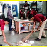 Swachh Bharat Vidyalaya campaign at Santosh Nagar Boys Branch