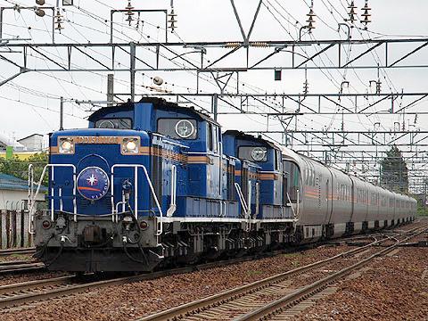 JR寝台特急「カシオペア」 DD51&E26系