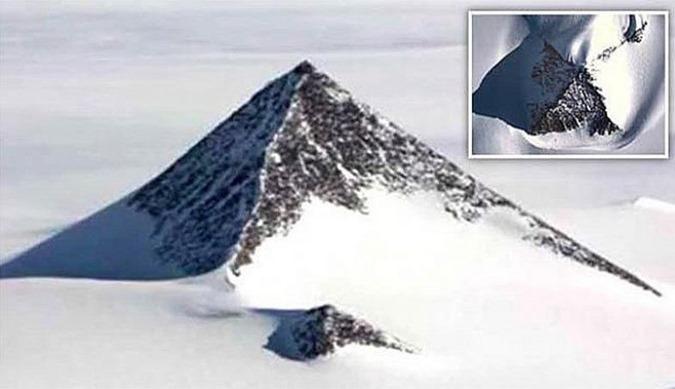 pirâmide descoberta na Antártida 01