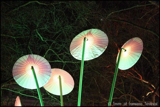 Flying saucers at Garden of Light by TILT