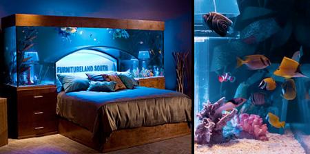 Кровать-аквариум