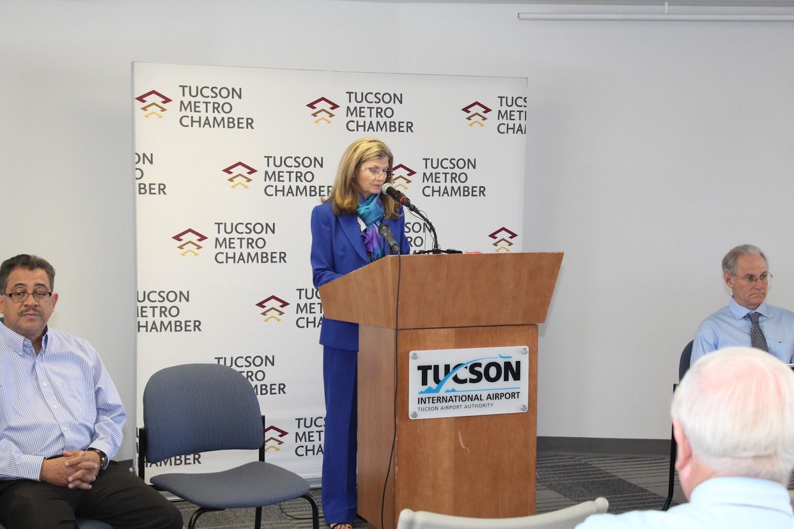 Tucson - JFK Non-Stop Route Announcement - IMG_3155.JPG