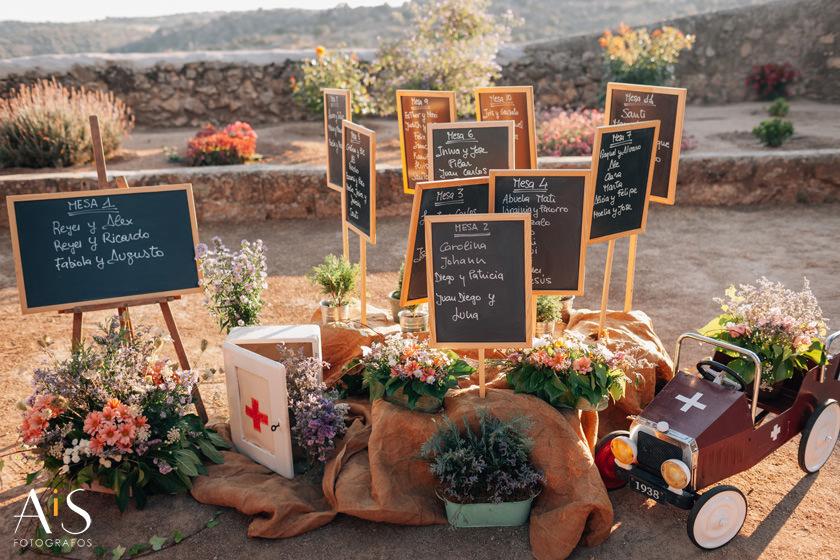 Decoración para bodas, Floritura