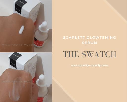 Review Serum Scarlett Glowtening