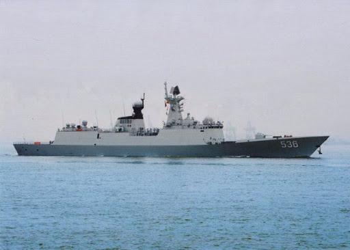 Kapal perang China Xuchang (536) tipe 054A/Jiangkai II-Class
