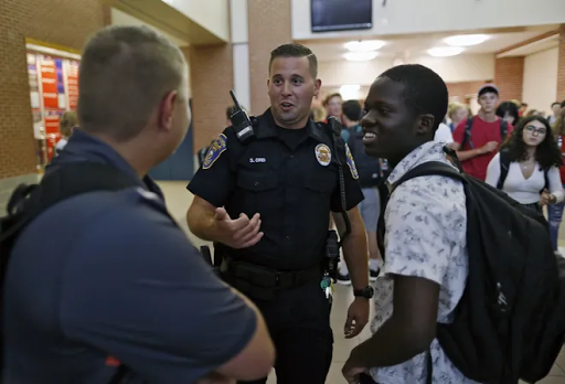 Columbus OH high schools reopen without police officers for first time in 25 years