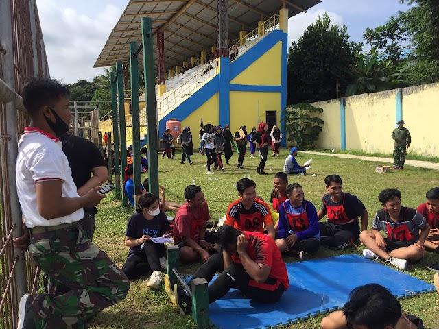 Menuju Porprov, PDBI Kotabaru Seleksi Atlet Drum Band