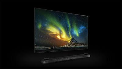 lg 4k signature oled tv 2017 CES