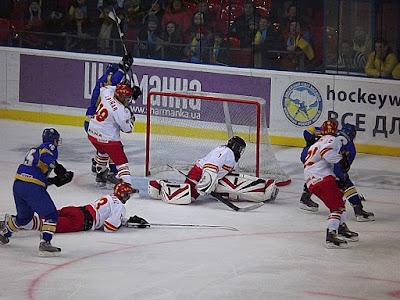 Международный чемпионат мира по хоккею в Донецке