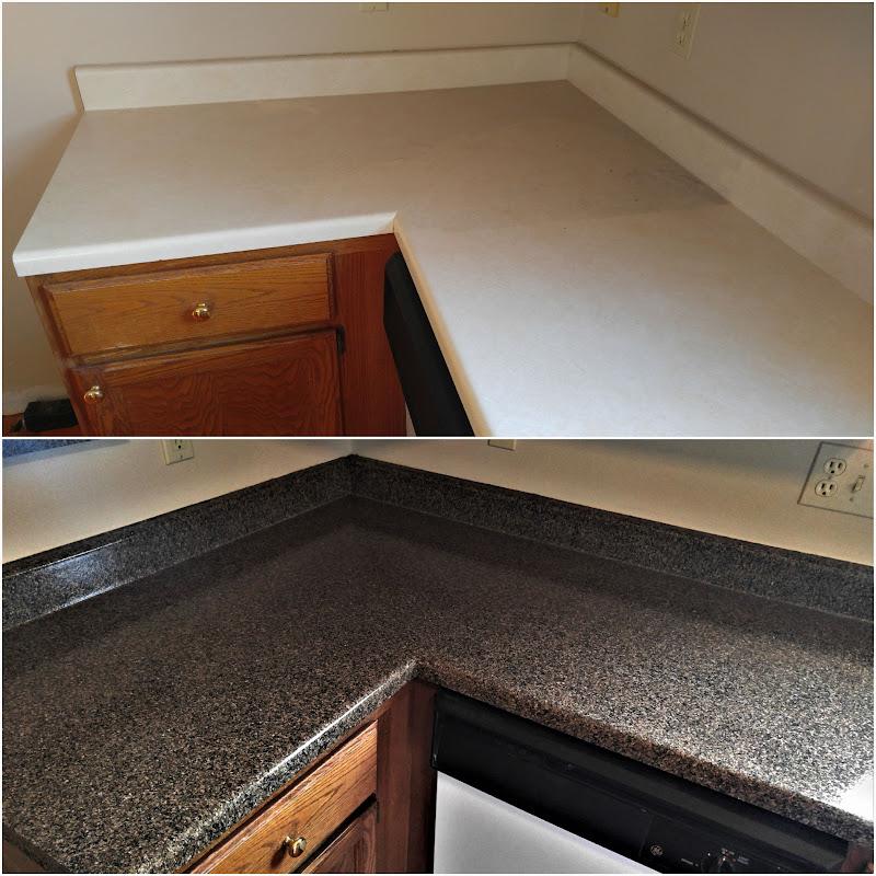 Countertop Refinishing, Kitchen Resurfacing Or Repairs On