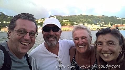 Gli amici del Paddy Boy, Giuliana e Roberto ! - Grenada