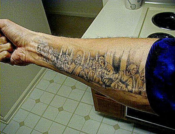 Religious Tattoos Web Site Devoted Judeo Christian Body Art