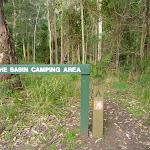 Sign at junction of Lyrebird and Rock Lilly Trails (364892)