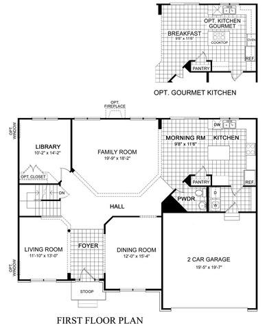 Building our covington by d r horton update the floor for Covington floor plan