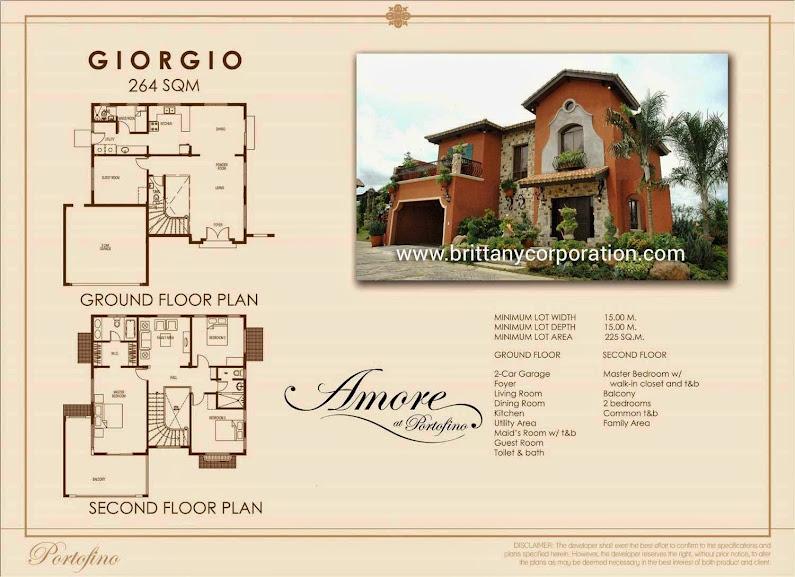 Portofino heights model house
