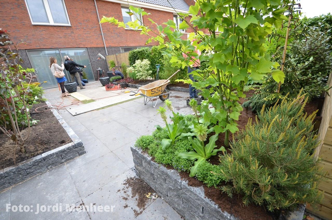 Robs Grote Tuinverbouwing bij de familie van Asperen in Barendrecht ...