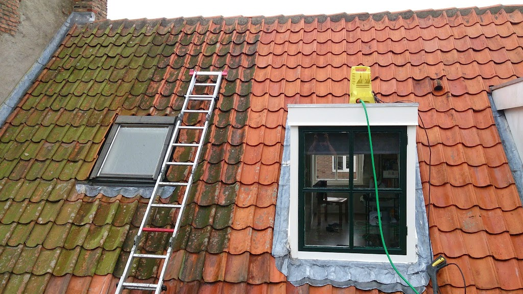 Impregneren dakpannen