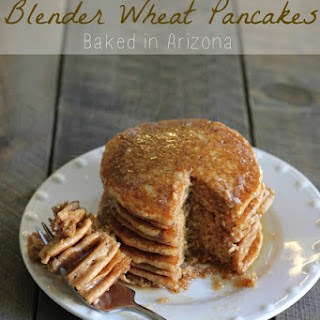 Blender Wheat Pancakes