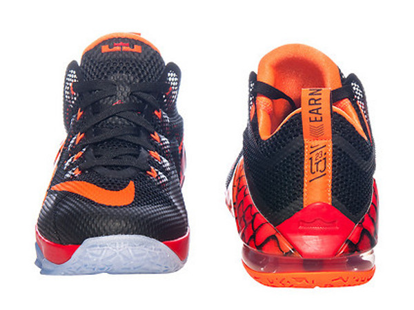 Nike LeBron 12 Low Fishing Scales Available in Kids Sizes
