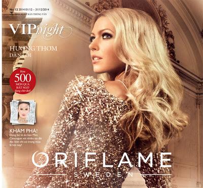 Catalog Oriflame tháng 12/2014