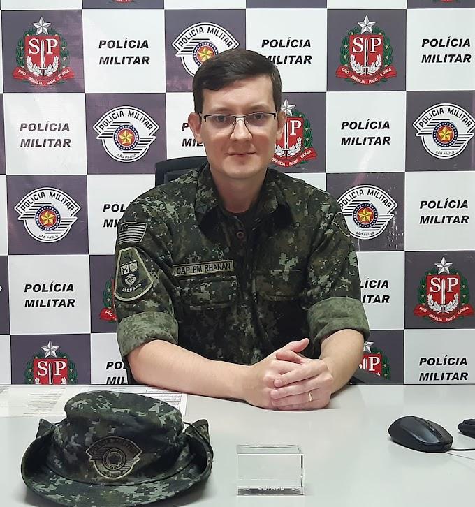 Capitão PM Rhanan assume o Comando da 1ª Companhia de Polícia Militar Ambiental