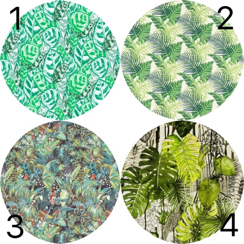 Amy vosper interiors trend jungle fever for Lacroix jardins 78