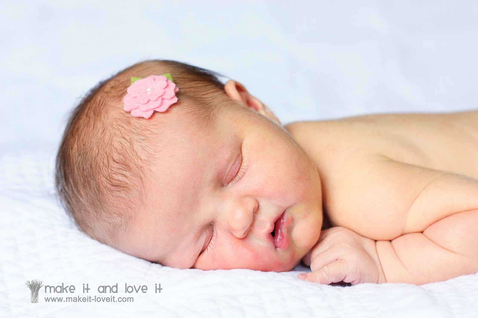 Wool Felt Hair Accessories For Baby Make It And Love It