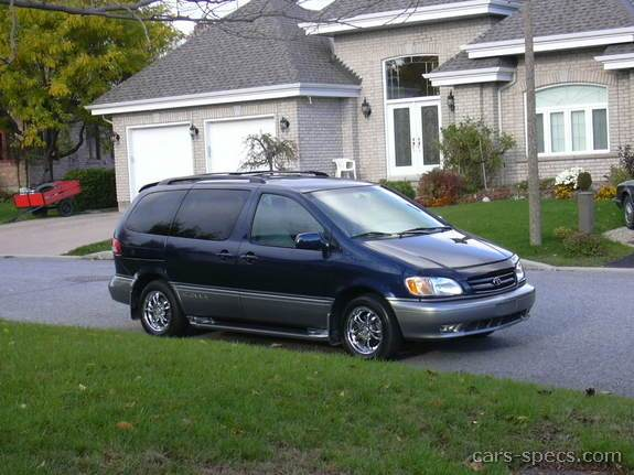 2002 toyota sienna minivan specifications pictures prices. Black Bedroom Furniture Sets. Home Design Ideas