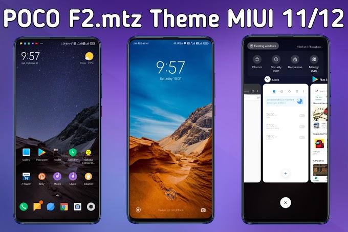 POCO F2.mtz Miui Theme All Xiaomi Devises | MIUI 11/12